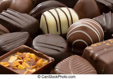 Chocolates - Assortment of fine chocolates
