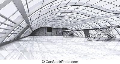 chodba, architektura