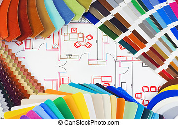 choice of material for interior decoration
