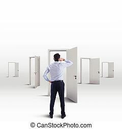 choisir, orienter, choix, entre, fonctionnement, carrière, beaucoup