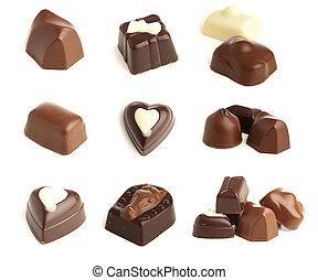 choklad, karamell
