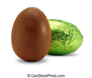 choklad påsk egga