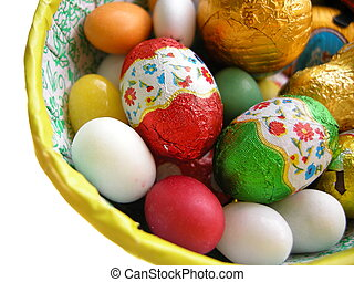 choklad påsk eggar