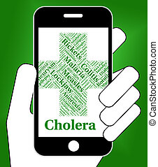 Cholera Disease Shows Poor Health And Attack