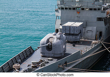 CHONBURI, THAILAND - MAY 11: The FAST FRIGATE ,FF battle...