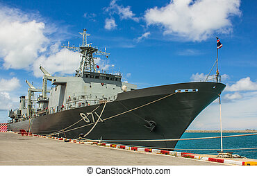 CHONBURI, THAILAND - MAY 28: The FAST FRIGATE ,FF battle...