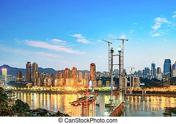chongqing, város láng, kína