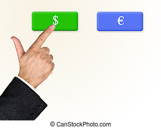 Choose between currencies