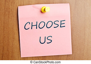 Choose us