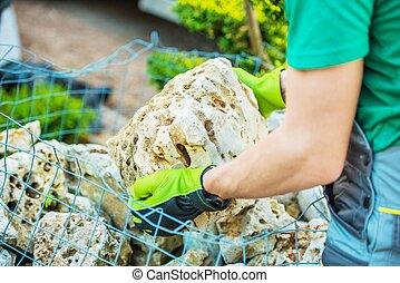 Choosing Garden Rocks