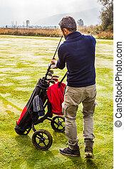 Choosing the golf club