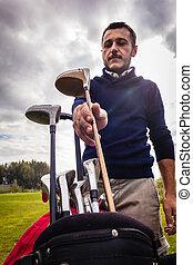 Choosing the right golf club