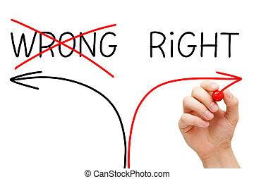 Choosing The Right Way - Choosing the Right way instead of ...