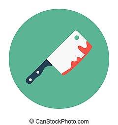 chop flat icon