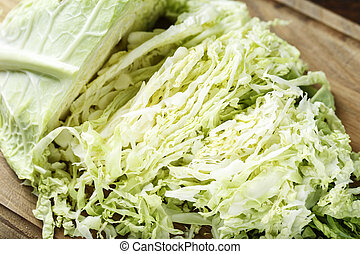 chopped chinese cabbage