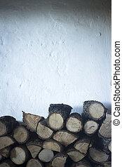 Chopped firewood for house fireplace edwardolive@hotmail. ...