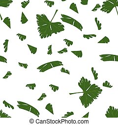 Chopped Parsley Seamless Pattern