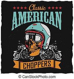choppers, manifesto, americano, classico