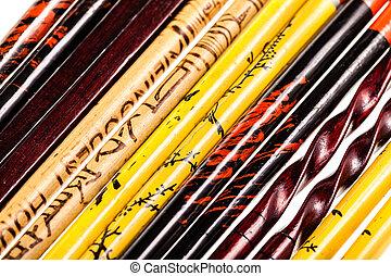 chopsticks, cobrança