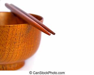 Chopsticks still life