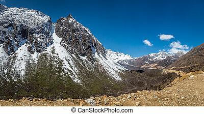 Chopta Valley in north Sikkim India