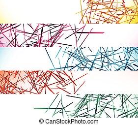 chorągiew, chaotyczny, tła, guzik, przypadkowy, abstrakcyjny, kwestia