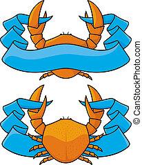 chorągiew, krab
