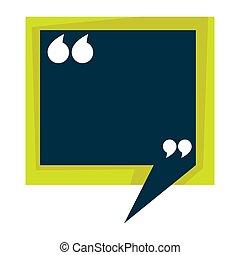 chorągiew, wektor, copyspace, cytat, znaki, opróżniać