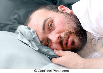 chore łóżko