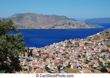Chorio, Symi island
