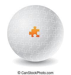 Chosen puzzle. Concepts