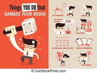 choses, vous, ton, abîmer, cerveau