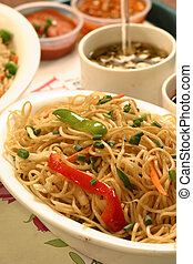 Chow mein or Stir -fried noodles - Chow mein is a generic...