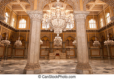 An ancient palace of the Nizams of the Hyderabad India