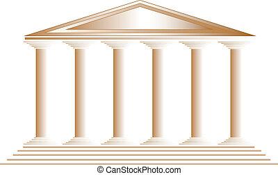 chrám, řečtina