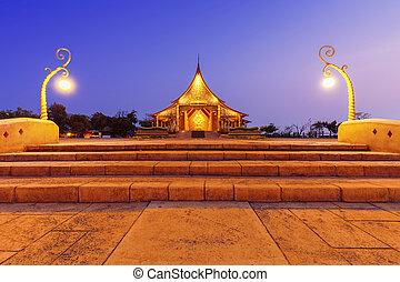 chrám, sirindhorn, wararam