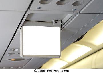 chránit přehlídka, letadlo, čistý