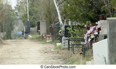 chrétien, cimetière, municipal