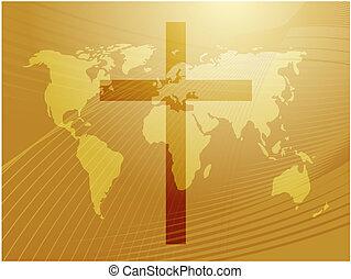 chrétien, croix