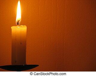 chrismas candle