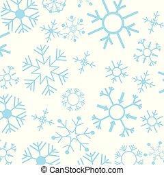 Chrismtas snowflakes pattern