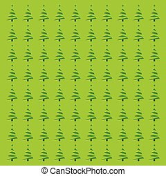Chrismtas tree pattern