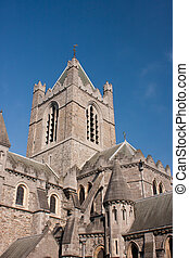 Christ Church Cathedral of Dublin in Ireland