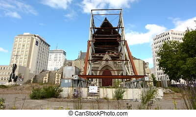Christ Church Cathedral. The February 2011 Christchurch ...