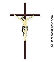 christ de jesus sobre la cruz