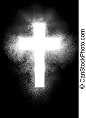 christ, kreuz, hintergrund