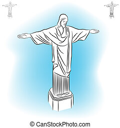Christ Redeemer Statue - An image of the Christ redeemer...