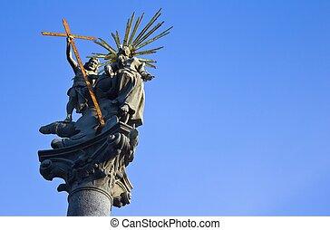 Christ Statue in Bratislava