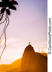 Christ The Redeemer - Christ the Redeemer statue on top of...