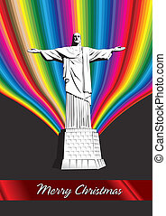 Christ the Redeemer - Merry Christmas